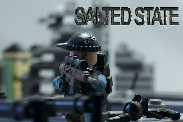 Salted State Rooftop Overwatch Custom Minifigure