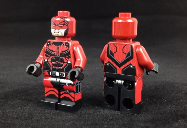 Demon Vigilante Custom Minifigure