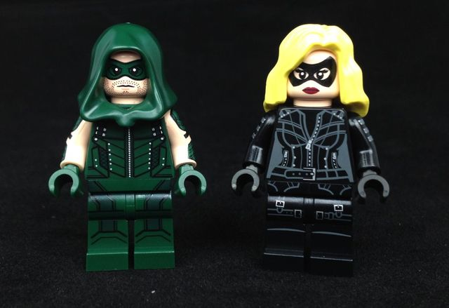 Archer & Blonde Vigilante Custom Minifigures