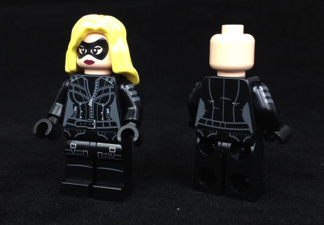 Black Canary Custom Minifigure | Custom LEGO Minifigures