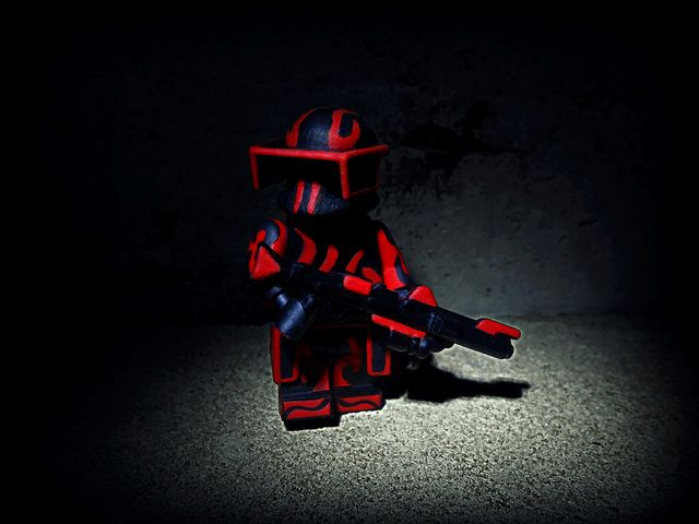 Blood Moon Custom Minifigure