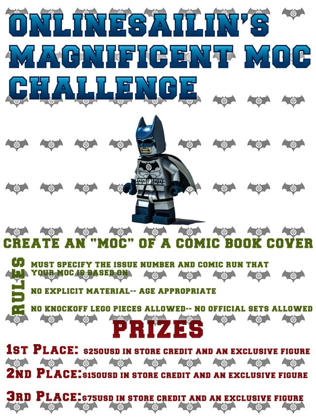 Onlinesailin's Comic Book MOC Challenge