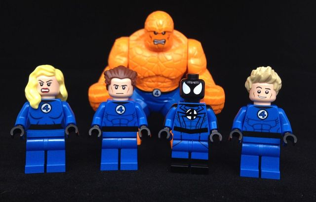 Fantastic 4 Custom Minifigures