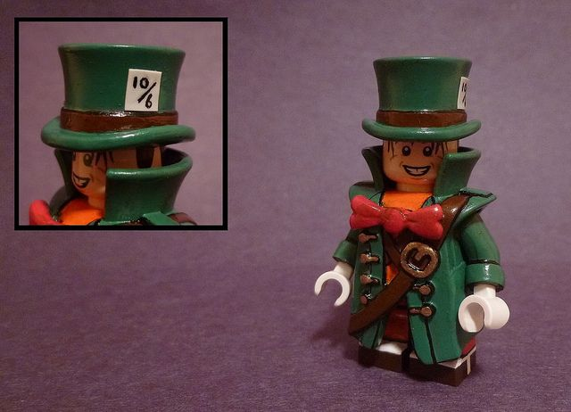 Mad Hatter Custom Minifigure