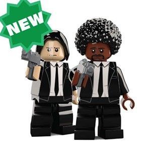 Pulp Fiction Custom Minifigures