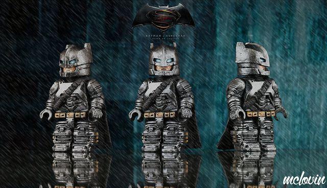 Armoured Batman Custom Minifigure