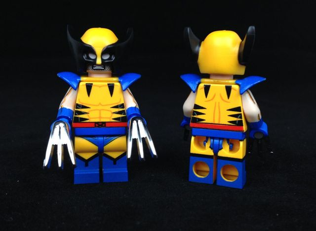 Chrome Claw Custom Minifigure