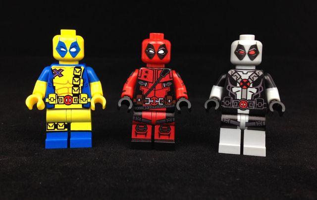 Deadpool Custom Minifigures