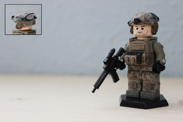 Devgru Military Custom Minifigure
