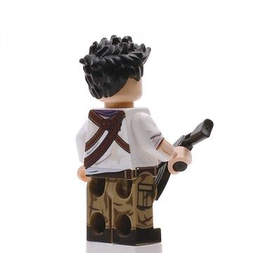 Nathan Drake Custom Minfigure Back
