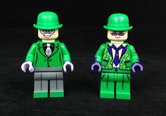 Riddler Custom Minifigures