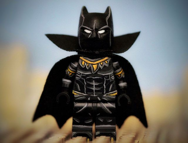 Comic Book Black Panther Custom Minifigure