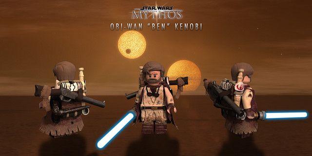 Mythos Obi-Wan Kenobi Custom Minifigure