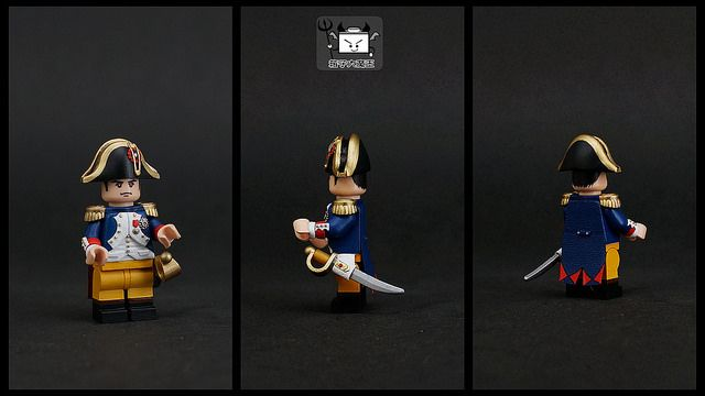 Napoléon Bonaparte Custom Minifigure
