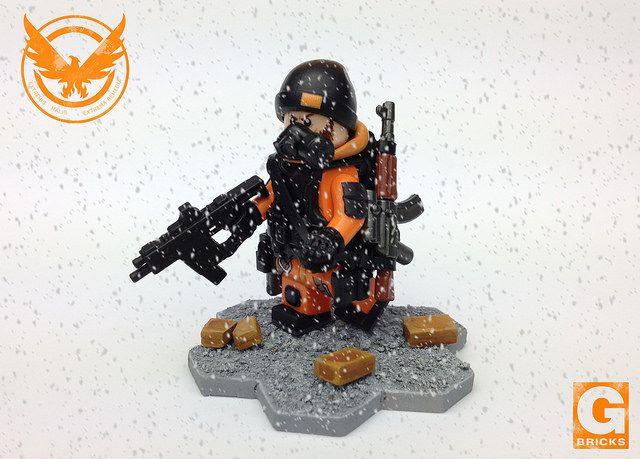 The Division Custom Minifigure
