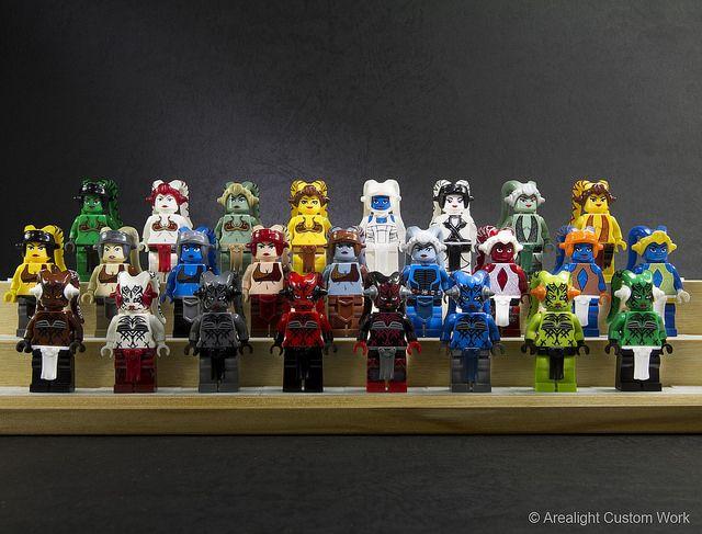 Twi'lek Custom Minifigure Packs | Custom LEGO Minifigures