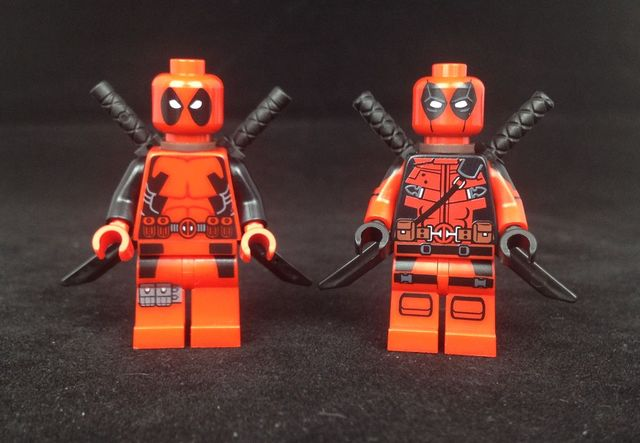 LEGO Deadpool and Sarcastic Mercenary Custom Minifigure