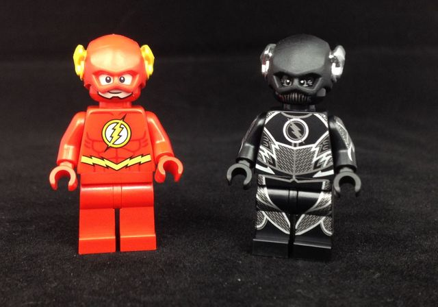 LEGO Flash & Speed Demon Custom Minifigure