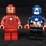 Iron Man & Captain America Custom Minifigures