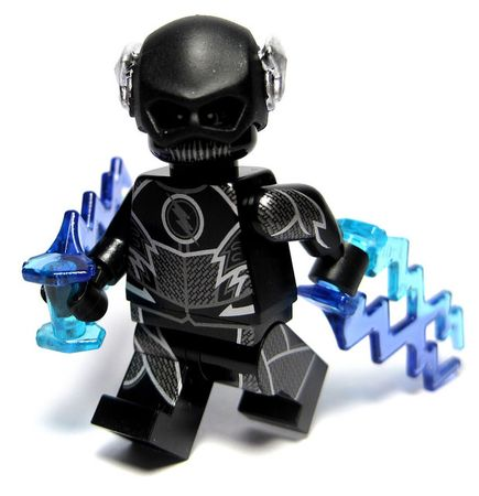 Speed Demon Brick Asylum Custom Minifigure