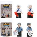 The Great Brickish Bake Off Custom Minifigures