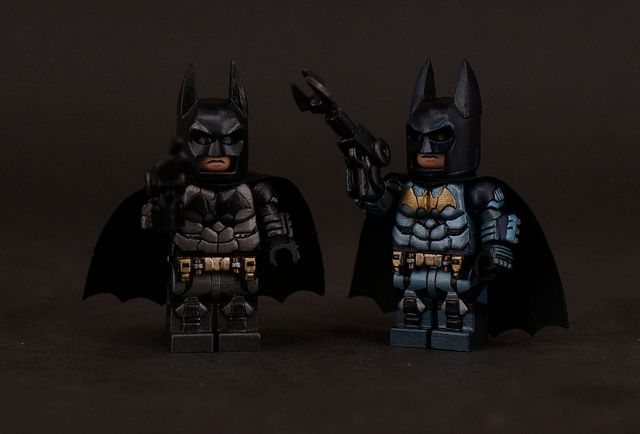 batman-painted-custom-minifigures