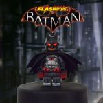 Flashpoint Batman LED Custom Minifigure