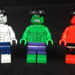 Hulk LeYiLeBrick Custom Minifigures