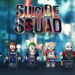 Painted Suicide Squad Custom Minifigures