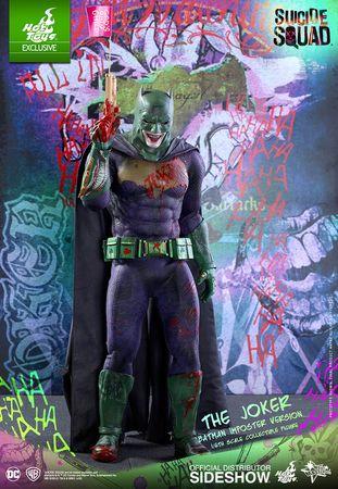 Hot Toys DC Comics Suicide Squad Joker Batman Imposter