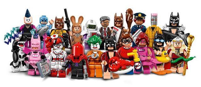 LEGO Batman Movie Minifigure Series