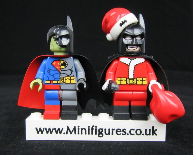 Santa Knight and Half & Half Custom Minifigures