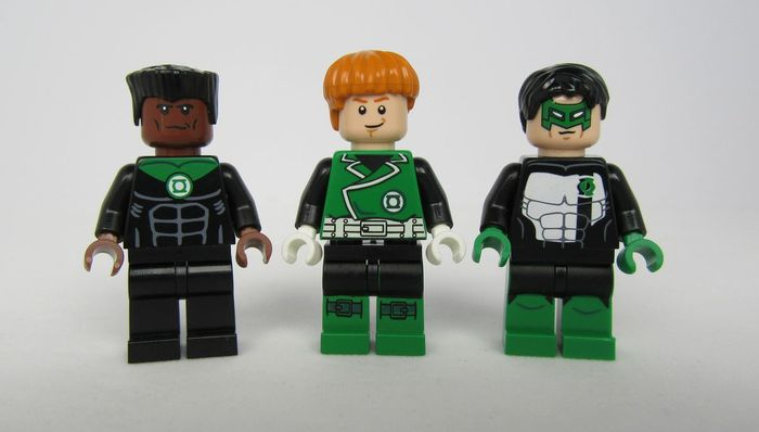 Green Lantern SFX Custom Minifigures