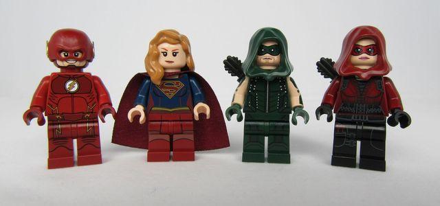 Team Flash or Team Arrow Custom Minifigures