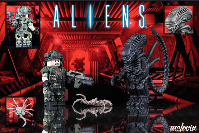 Aliens (1986) Custom Minifigures