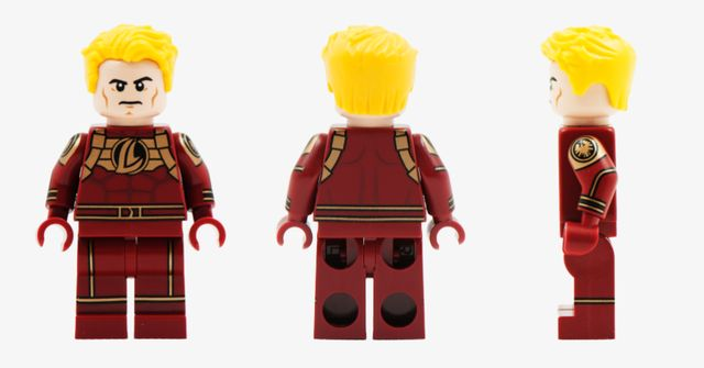 Human Torch Custom Minifigure