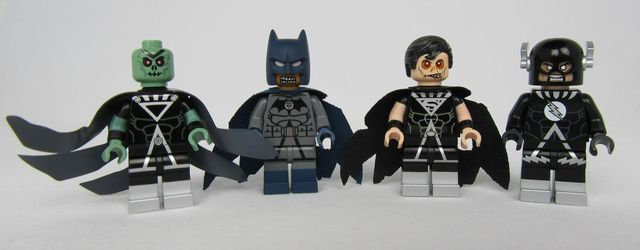 Black Lantern Custom Minifigures