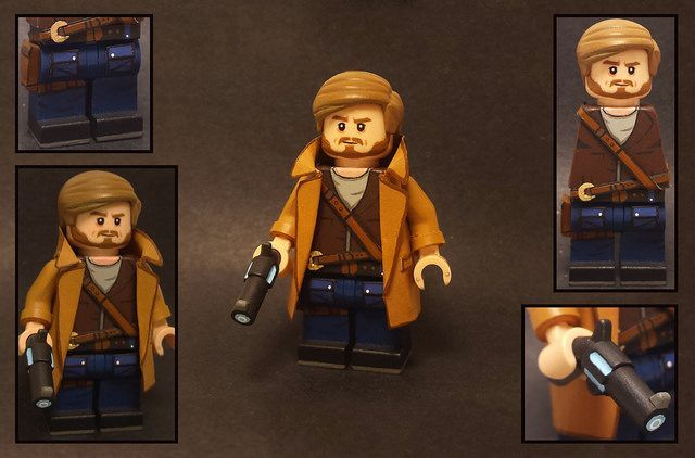 Rip Hunter Custom Minifigure