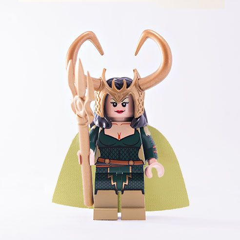 BrothersFigure Devilish Dame Custom Minifigure