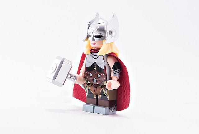 Lady Thunder Custom Minifigure