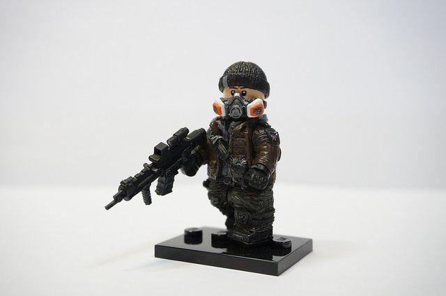The Division Custom Minfigure