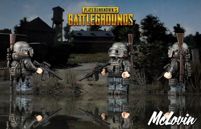 Playerunknown's Battlegrounds Custom Minifigure