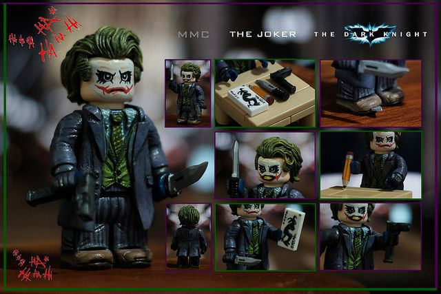 The Dark Knight Joker Custom Minifigure