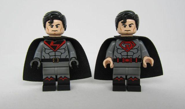 Soviet Superman Custom Minifigures