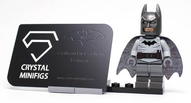 Crystal Minifigs Gaslight Bat Custom Minifigure