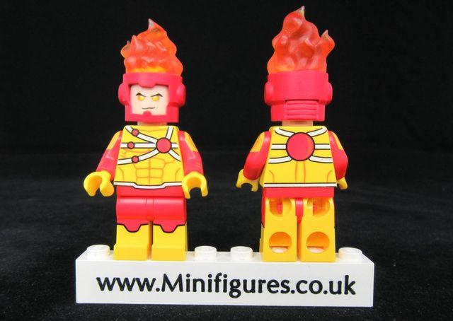 Funny Brick Firestorm Custom Minifigure