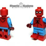 Homemade Arachnid Hero Phoenix Customs Minifigure
