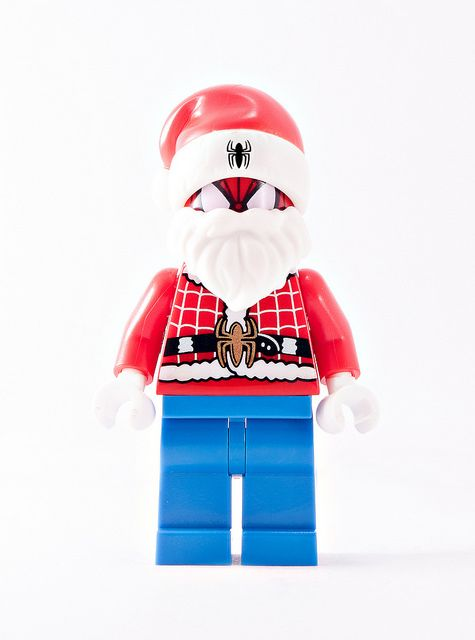 Santa Crawls Brothersfigure Custom Minifigure