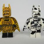 Dragon Brick Leopard  & Cow Batman Custom Minifigures