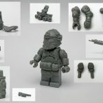 G-Bricks Cast Pieces